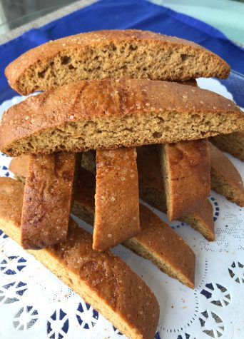 Spiced Honey Biscotti