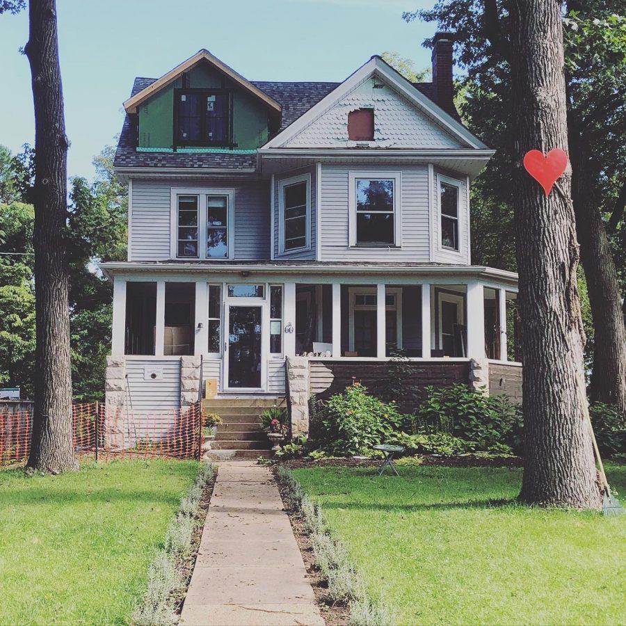 Rachel and Jay Closson's Webster Groves home.Photos courtesy of Rachel Closson
