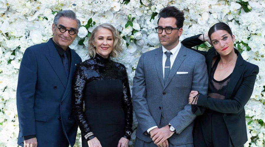 The+%22Schitt%27s+Creek%22+cast+at+a+pre-Emmys+party%2C+Sept.+21%2C+2020.+From+left%3A+Eugene+Levy%2C+Catherine+O%27Hara%2C+Dan+Levy+and+Anne+Murphy.+%28%22Schitt%27s+Creek%22%2FInstagram%29%C2%A0