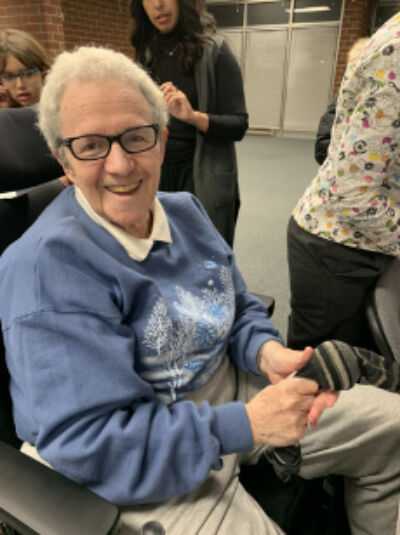 Shulamit Bastacky, who now lives in Pittsburgh, has a tremendous story of surviving the Holocaust. She connected with Ohr Chadash teen writer Avital Vorobeychikthrough a program called CHAT, which stands for Corona Halts At Talk, and allows kids and the elderly to talk on the phone every week.