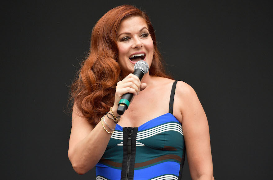 Actress+Debra+Messing+is+participating+in+a+special+Jewish+Women+Vote+event+at+2%3A30+p.m.+Friday%2C+Oct.+16.