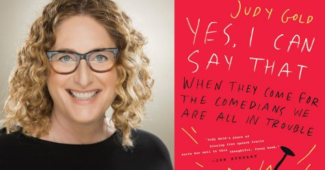 "Comedian Judy Gold has written a new book, ""Yes, I Can Say That: When They Come for the Comedians, We Are All in Trouble."""