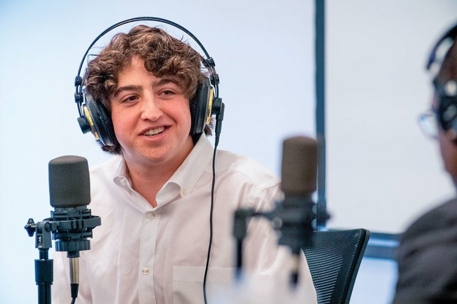 Gabe Fleisher hosts a politics podcast for St. Louis Public Radio. Photo: David Kovaluk