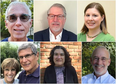 The individuals being honored as 2020 Unsung Heroes are (clockwise from top left) Mark Dana, Steve Rosenblum, Aleeza Granote, Alan Spector, Sheryl Kalman and Allen and Ronnie Brockman.