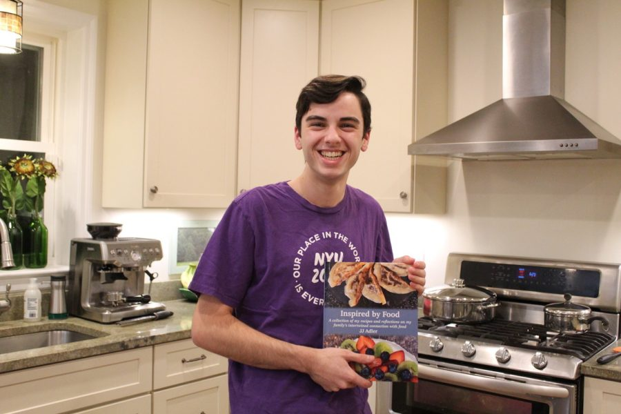 """JJ Adler is the author of the """"Inspired by Food"""" cookbook."""