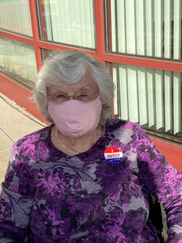 Rosita Levy, 92, recently voted for the first time.