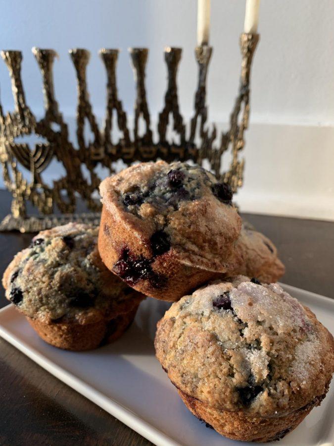 Blueberry+ricotta+muffins+Photo+by+Michael+Kahn