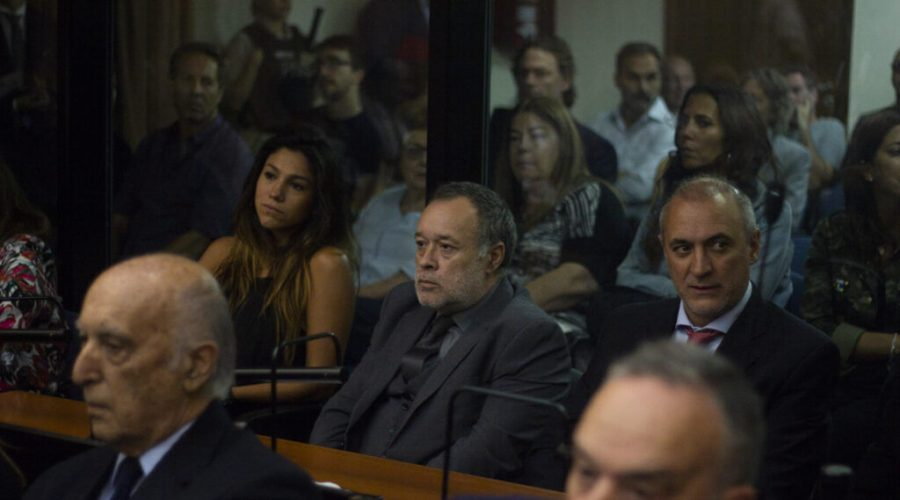Argentine auto mechanic Carlos Telleldin looks on during his trial involving the 1994 AMIA bombing in Buenos Aires, Feb. 28, 2019. (Matías Baglietto/NurPhoto via Getty Images)