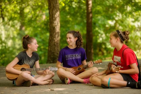 Pre-pandemic scenes of summer fun at Camp Ben Frankel in southern Illinois