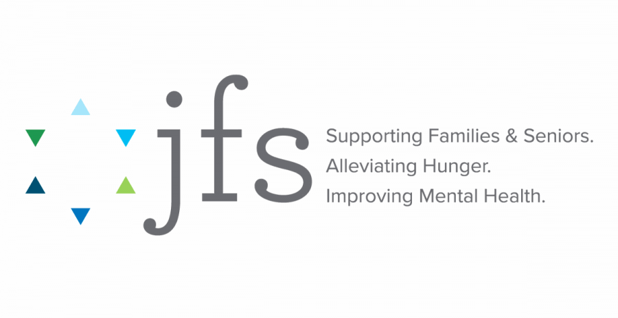 The logo of Jewish Family Services — formerly Jewish Family & Children's Service.