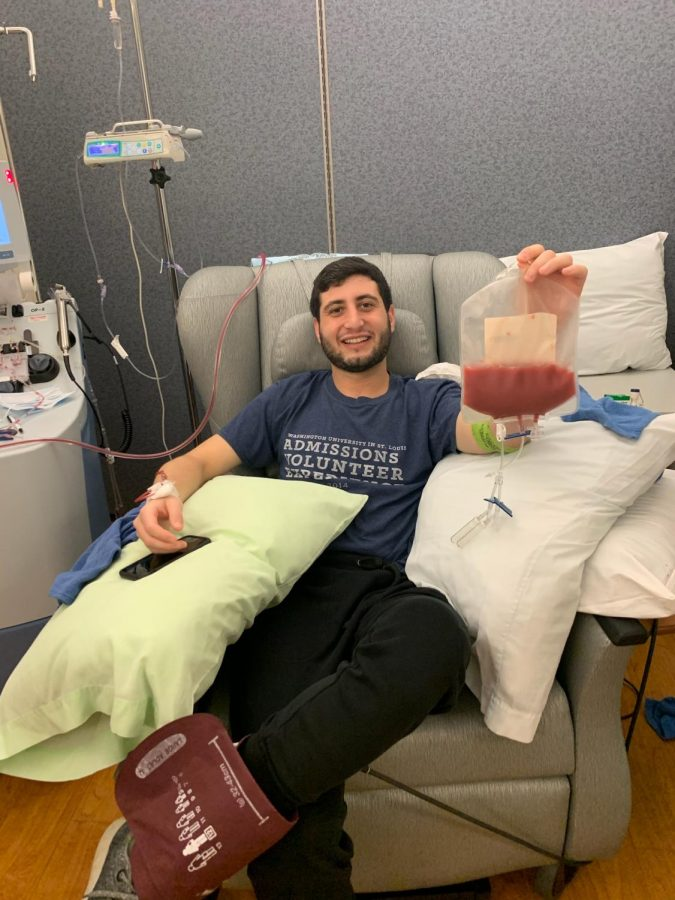 Daniel+Sheinbein+took+time+away+from+a+grueling+year+of+medical+school+at+the+University+of+Missouri-+Columbia+to+drive+to+Cincinnati+and+donate+stem+cells+to+a+total+stranger.
