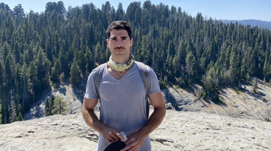 Tobin Mitnick really loves trees, and wants you to, too. (Courtesy of Mitnick)