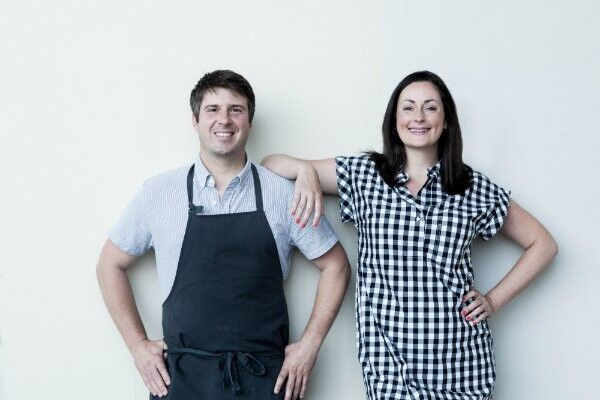 Michael and Tara Gallina, owners of Vicia and Winslow's Table