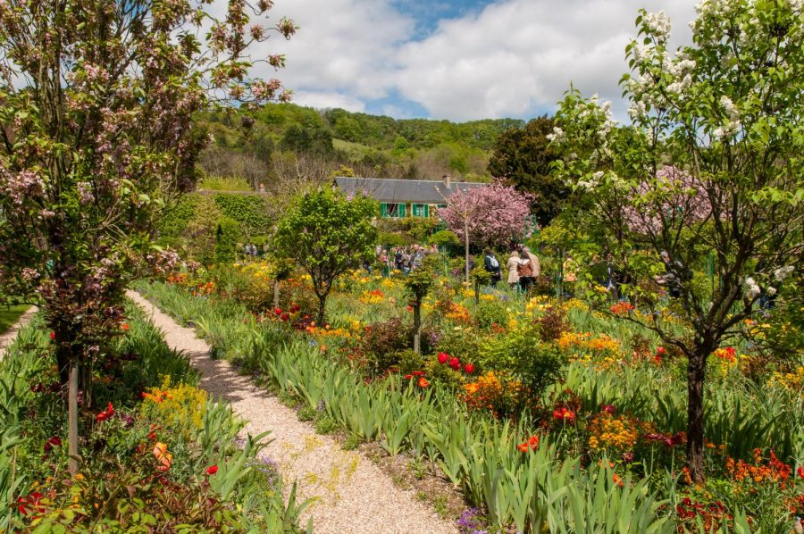 Artist+Claude+Monet%E2%80%99s+house+and+garden+in+Giverny%2C+France.+