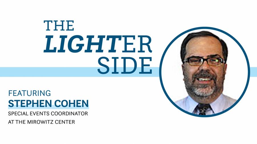 Stephen Cohen Lighter Side
