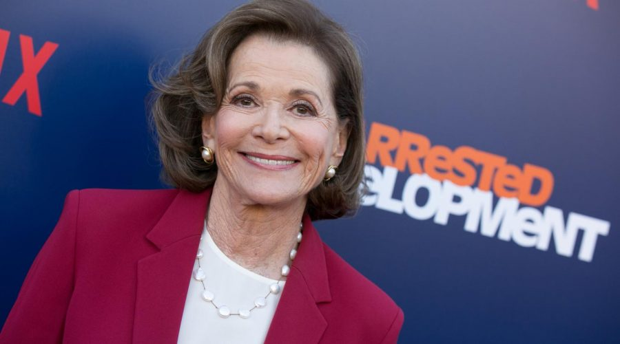 LOS ANGELES, CA - MAY 17: Jessica Walter arrives for the premiere of Netflix's