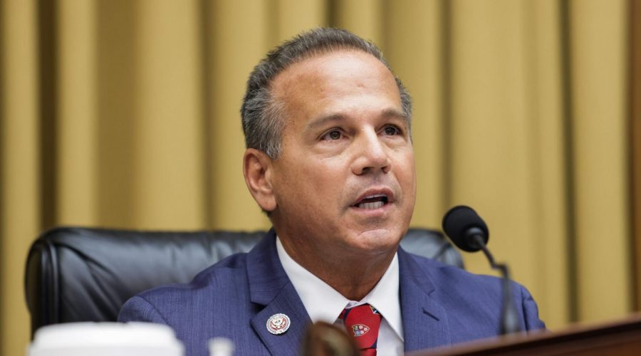 WASHINGTON, DC - JULY 29: Commercial and Administrative Law House Subcommittee Chairman Rep. David Cicilline (D-RI) speaks during the House Judiciary Subcommittee on Antitrust, Commercial and Administrative Law hearing on Online Platforms and Market Power in the Rayburn House office Building, July 29, 2020 on Capitol Hill in Washington, DC. (Photo by Graeme Jennings-Pool/Getty Images)