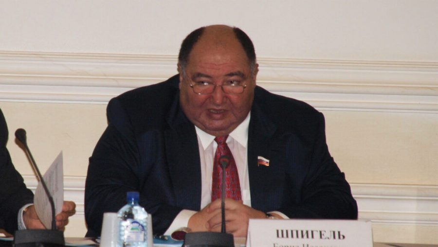 Boris Spiegel speaks during a meeting of the Civic Chamber of the Russian Federation in Yaroslavl, Russia on Nov. 28, 2011. (Public Chamber of the Yaroslavl Region)