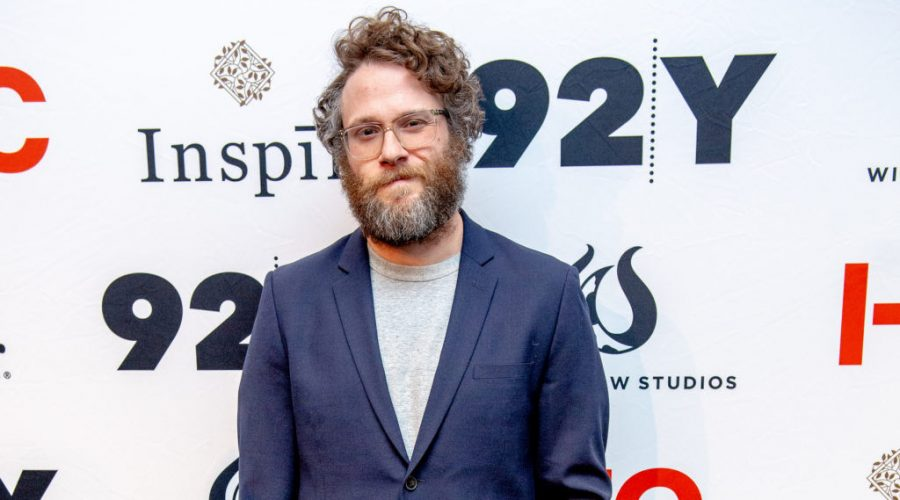 Seth Rogen at the 92nd Street Y in New York City, Feb. 29, 2020 in New York City. (Roy Rochlin/Getty Images)