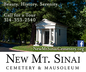 New Mt. Sinai Cemetery advertisement