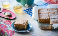 The remarkable true story of this maple walnut cake recipe