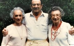 Aunt Liz, Uncle George and Grandma Syl (left to right).