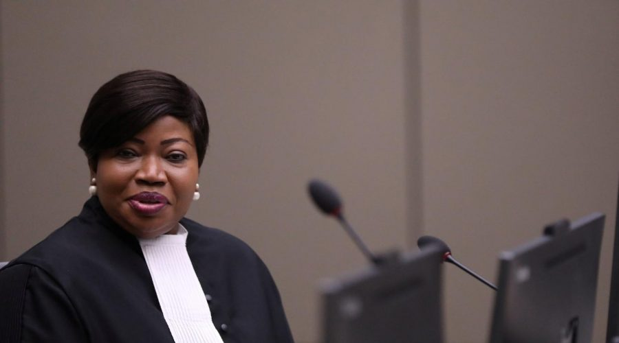 Fatou Bensouda, the International Criminal Court's prosecutor, at the court in The Hague, Netherlands, July 8, 2019. (Eva Plevier/AFP via Getty Images