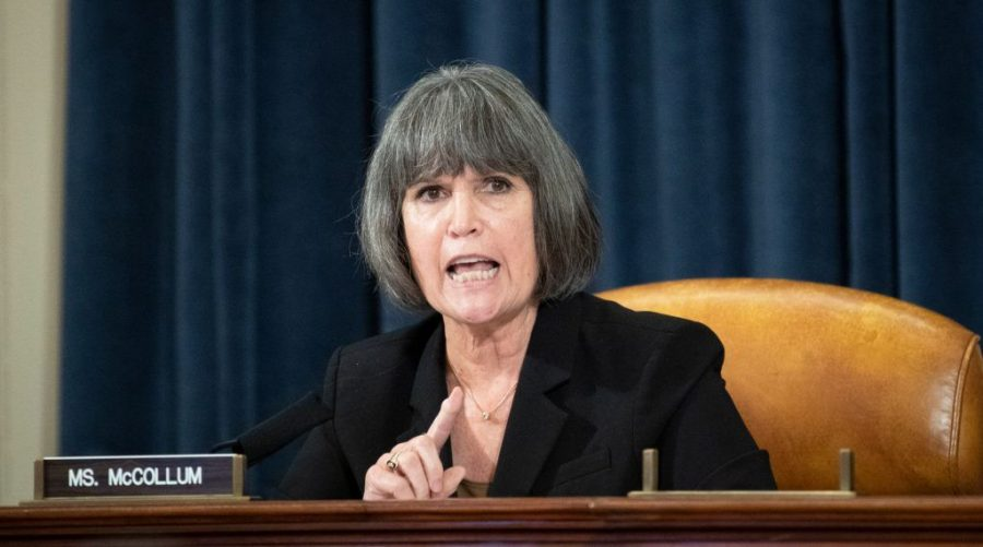 Rep. Betty McCollum, seen in July 2020, is leading another attempt to restrict areas where Israel may spend U.S. funds. (Caroline Brehman/CQ-Roll Call, Inc via Getty Images)