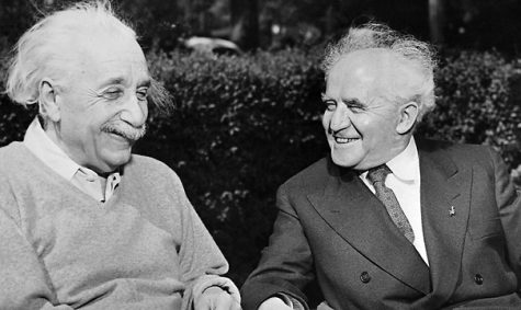 Israeli Prime Minister David Ben-Gurion tried to persuade Albert Einstein to serve as Israel's second president.