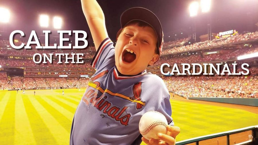 Caleb+on+the+Cardinals
