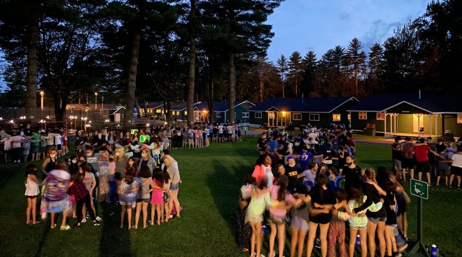Camp Modin in Maine was one of the few Jewish camps to open last year. It plans to follow the same playbook this year. (Courtesy of Howard Salzberg)