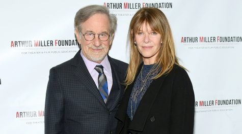 Stephen Spielberg and Kate Capshaw attend the 2018 Arthur Miller Foundation Honors at City Winery in New York City, Oct. 22, 2018. (Mike Coppola/Getty Images)
