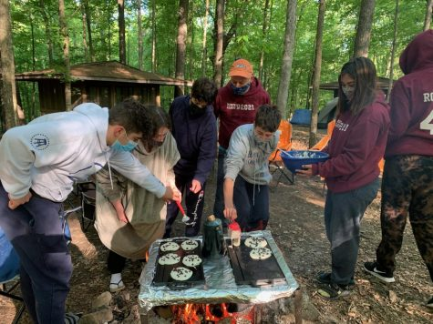 Due to the pandemic, the eighth grade class of Saul Mirowitz Jewish Community School went on a camping trip to Camp Manitowa in Illinois in place of the school's traditional trip to Israel.