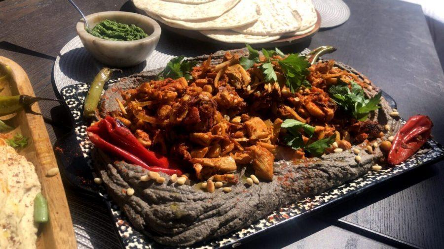 Homesick Israeli shows us how to make a vegan shawarma, anywhere in the world