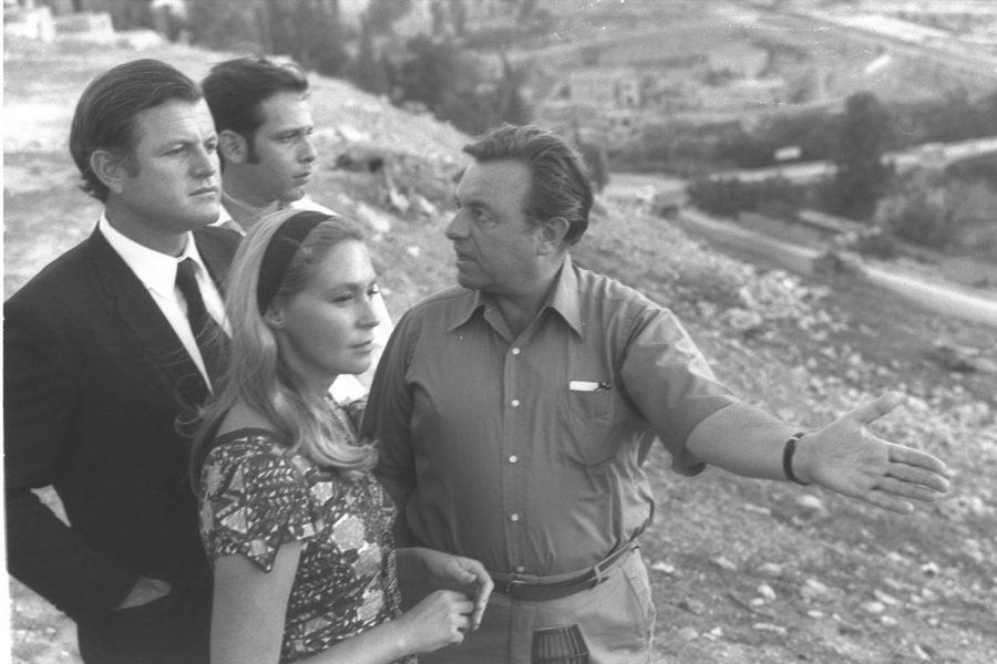 Jerusalem Mayor Teddy Kollek in 1971