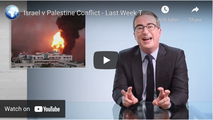 John+Oliver+draws+praise+and+condemnation+for+his+segment+on+conflict+in+Gaza
