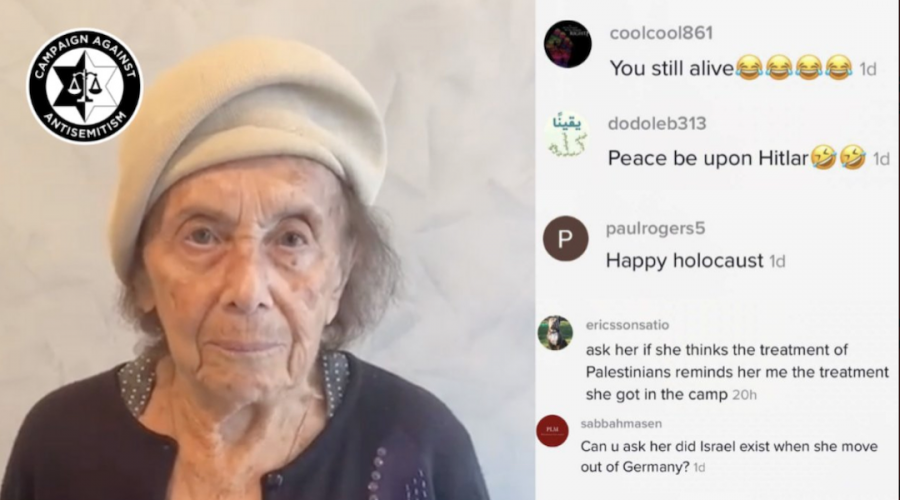 Holocaust survivor wishes Tik Tok a Shabbat Shalom and gets spammed with antisemitic hate