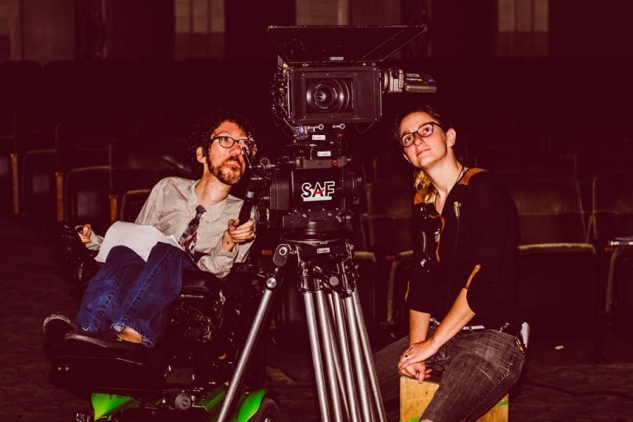 """Michael Carnick (left) set his film, """"The Forbidden Wish,"""" at a fictional St. Louis synagogue."""