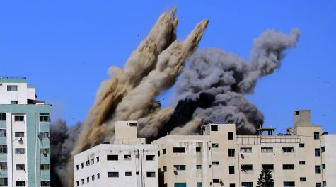 Israel's deadliest barrage yet kills at least 42 in Gaza as Hamas continues its rocket attacks