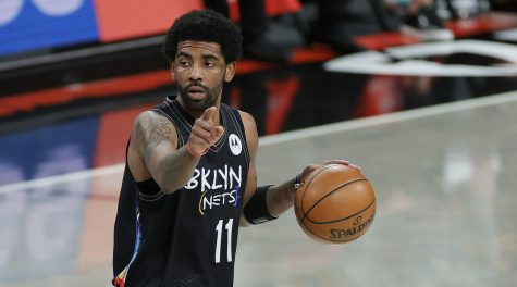 Nets star Kyrie Irving says he's more focused on the Israel-Gaza conflict than basketball right now
