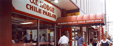 Lost Tables | Remembering O.T. Hodge Chile Parlor