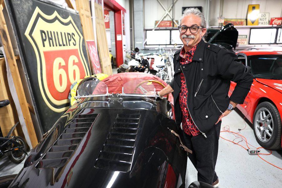 Scott Brandt is the owner of Moto Exotica auto showroom in Fenton.