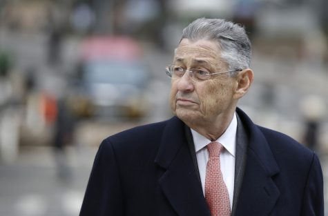 Former New York Assembly Speaker Sheldon Silver arrives at the federal courthouse in New York, Nov. 24, 2015. (Seth Wenig/AP Images)