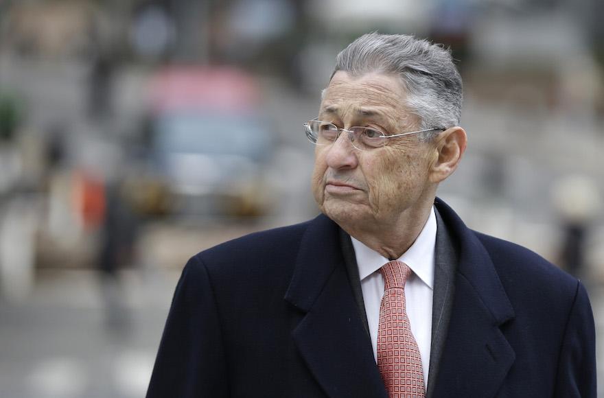 Former New York Assembly Speaker Sheldon Silver arrives at the federal courthouse in New York, Nov. 24, 2015. (Seth Wenig/AP Images)