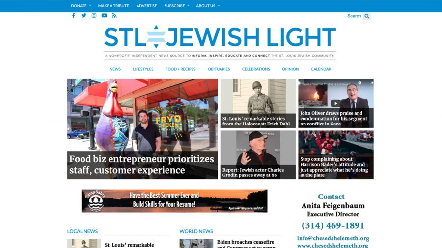 The Jewish Light's website is now .org —here's why