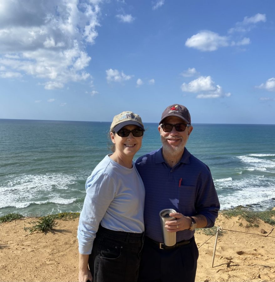 Edward and Avril Adelman immigrated in 2018 from St. Louis to Israel and now live in Tel Mond, a town of 13,000 east of Netanya.
