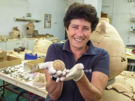 1,000 year old intact chicken egg discovered in Israel – but cracked open while being examined