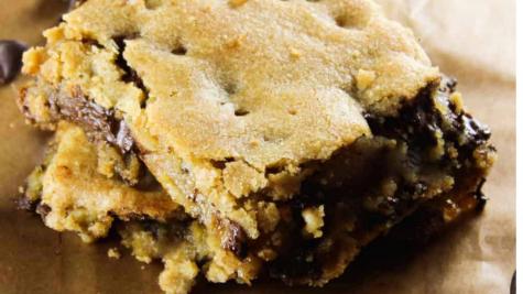 Yay Kosher: Easy Chewy Chocolate Chip Blondies