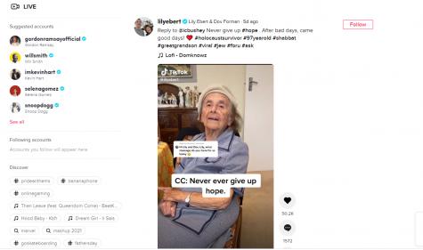 Auschwitz survivor's Holocaust testimony videos hit 1m TikTok followers