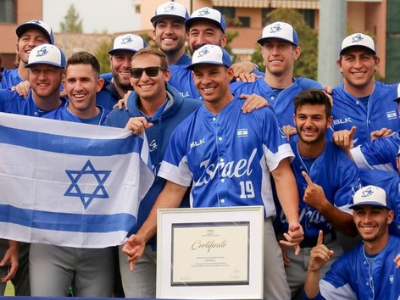 Israel's baseball team heads to Olympics with made-in-America talent